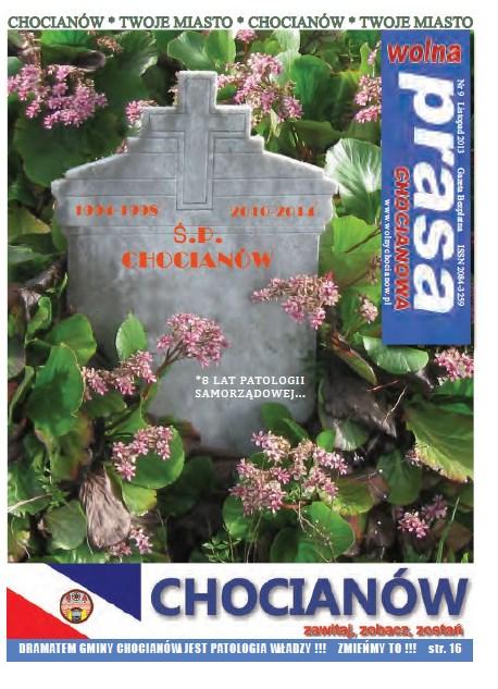 Wolna Prasa Chocianowa Nr 9