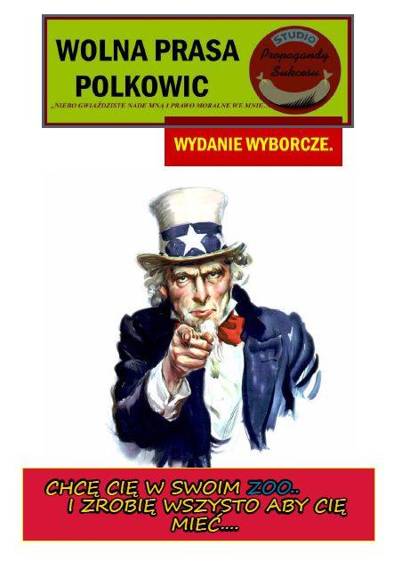 Wolna Prasa Polkowic Nr 4 - WYBORACZA