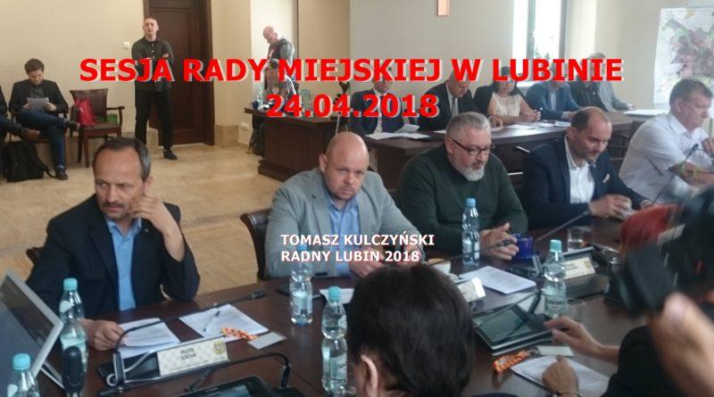 Kulczyński na sesji