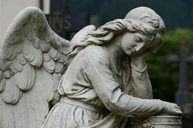 Anioł w Chocianowie
