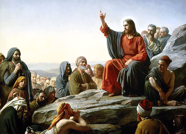Jezus kazanie