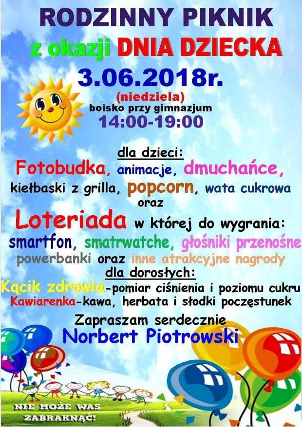 Piknik Rodzinny Norberta Piotrowskiego