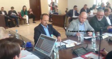 Tomasz Kulczyński na sesji w Lubinie