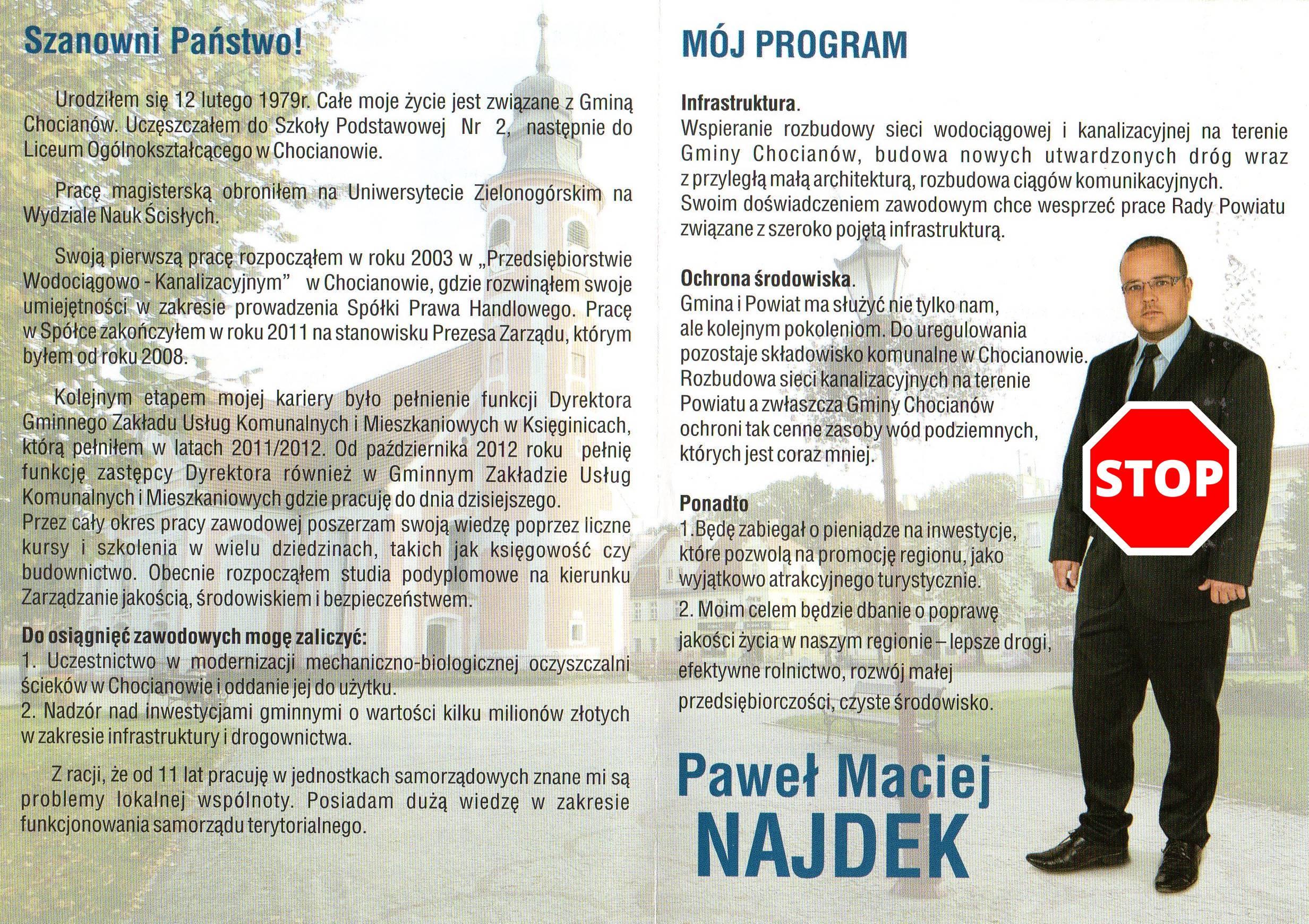 Program Najdka 2014